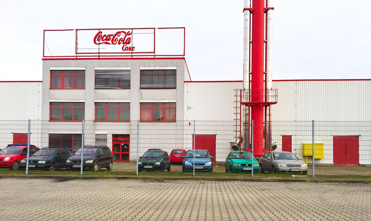 Nowoczesny Obiekt Magazynowy Coca Cola