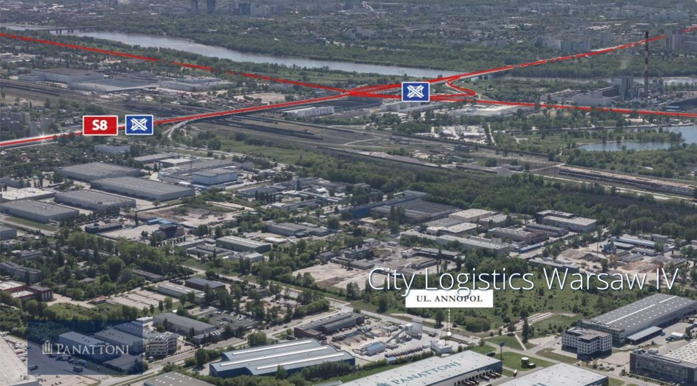 City Logistics Warsaw IV