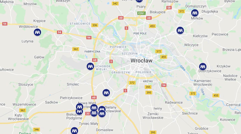 Panattoni Wrocław Mapa